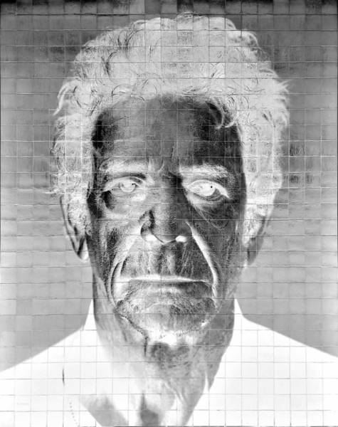 Photograph - 2nd Ave Subway Art Lou Reed Negative by Rob Hans