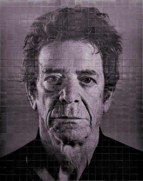 Photograph - 2nd Ave Subway Art Lou Reed Purple by Rob Hans