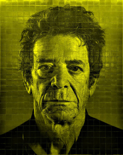 Photograph - 2nd Ave Subway Art Lou Reed Yellow by Rob Hans