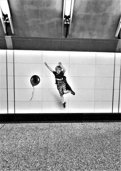 Photograph - 2nd Ave Subway Art Perfect Strangers16 B W by Rob Hans