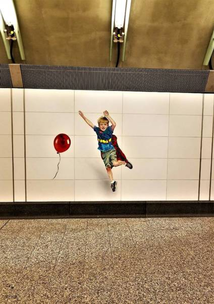 Photograph - 2nd Ave Subway Art Perfect Strangers16 by Rob Hans