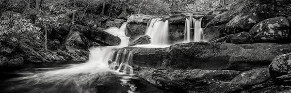 Photograph - 2nd Falls In Tremont by Jon Glaser