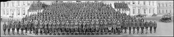 Wall Art - Photograph - 2nd Machine Gun Battalion, 1st Division, U.s Capitol, Washington D.c., September 15, 1919 by Fred Schutz Collection