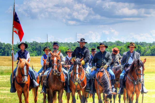 Photograph - 2nd Us Cavalry  by Pete Federico