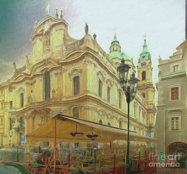 Photograph - 2nd Work Of St. Nicholas Church - Old Town Prague by Leigh Kemp