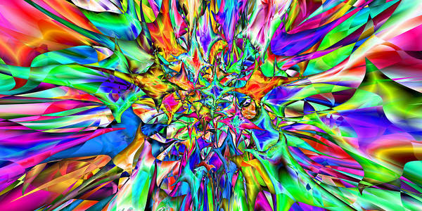 Digital Art - 2x1 Abstract 306 by Rolf Bertram