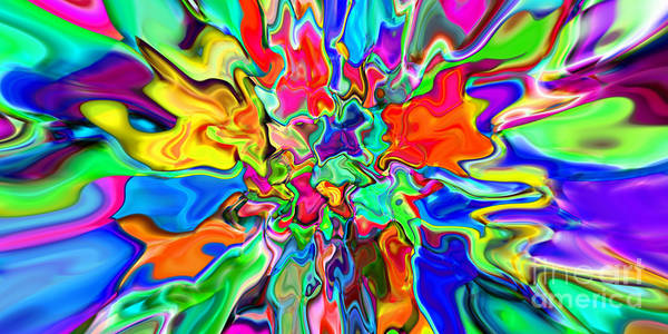 Digital Art - 2x1 Abstract 311 by Rolf Bertram