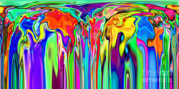 Digital Art - 2x1 Abstract 312 by Rolf Bertram