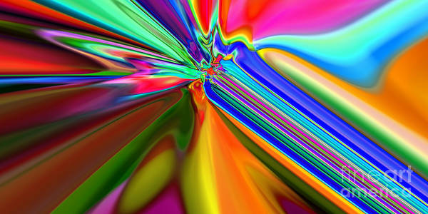 Digital Art - 2x1 Abstract 313 by Rolf Bertram