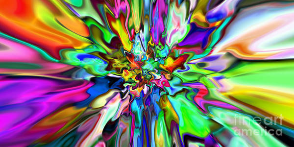 Digital Art - 2x1 Abstract 315 by Rolf Bertram