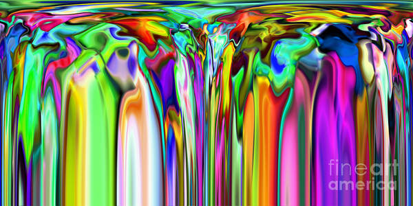 Digital Art - 2x1 Abstract 316 by Rolf Bertram