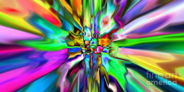 Digital Art - 2x1 Abstract 319 by Rolf Bertram