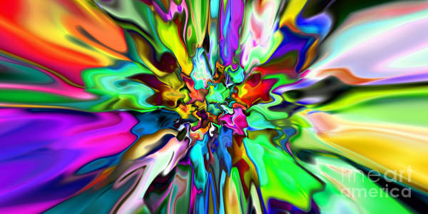Digital Art - 2x1 Abstract 323 by Rolf Bertram