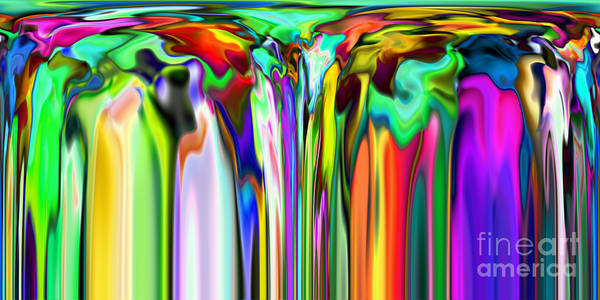 Digital Art - 2x1 Abstract 324 by Rolf Bertram