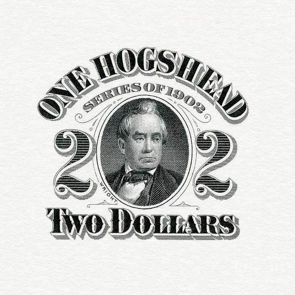 Wall Art - Photograph - 1902 Hogshead Beer Tax Stamp by Jon Neidert