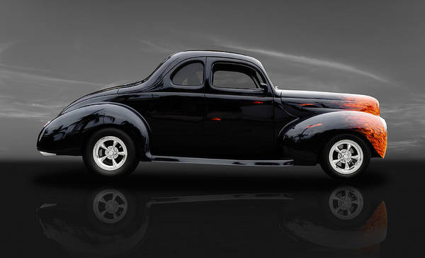 Street Rods Photograph - 1940 Ford by Frank J Benz