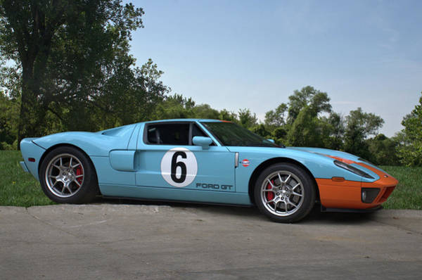Photograph - 2006 Ford Gt by Tim McCullough