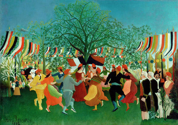 Wall Art - Painting - A Centennial Of Independence by Henri Rousseau