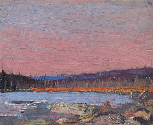 Painting - A Northern Lake by Tom Thomson