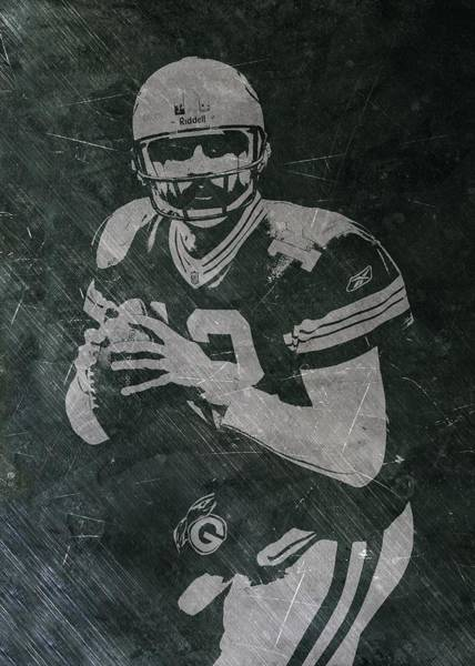 Green Bay Packers Wall Art - Photograph - Aaron Rodgers Packers by Joe Hamilton
