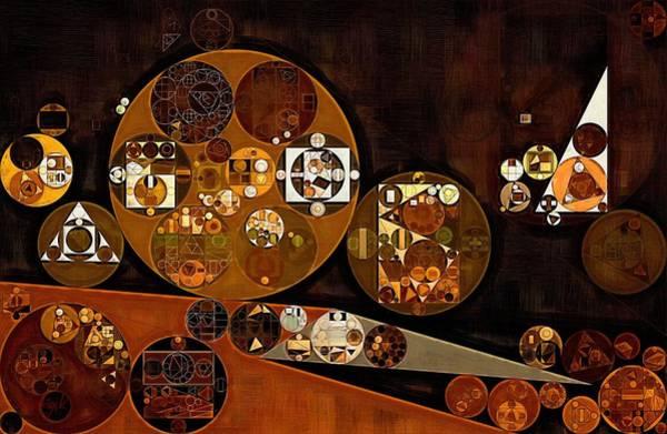 Poppies Digital Art - Abstract Painting - Attack by Vitaliy Gladkiy