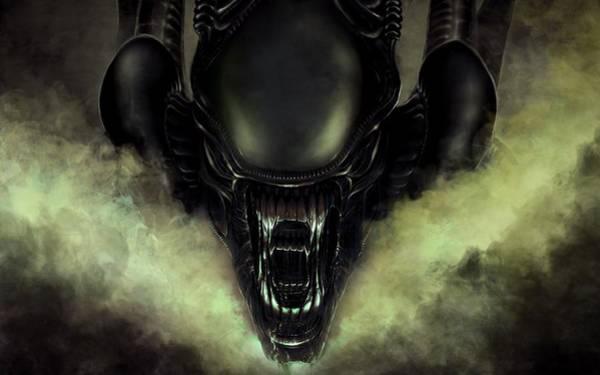 Alien Digital Art - Aliens Colonial Marines by Maye Loeser