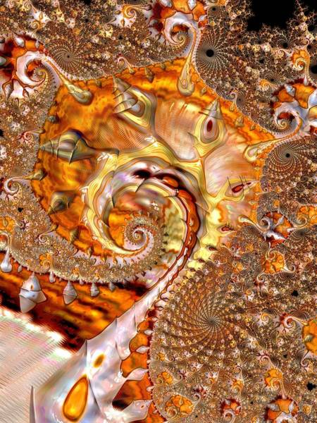 Digital Art - All Gold by Amanda Moore