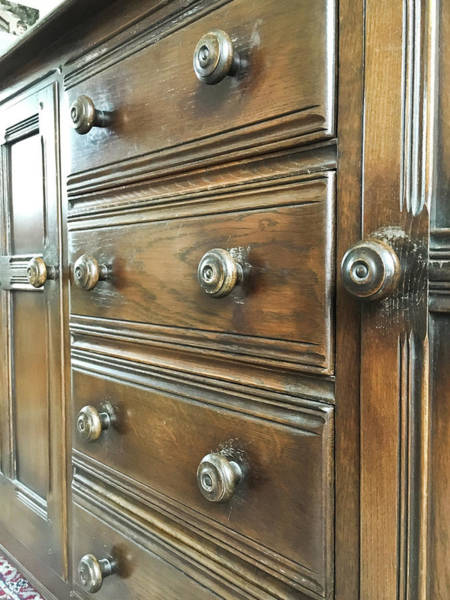 Cabinet Photograph - Antique Furniture by Tom Gowanlock