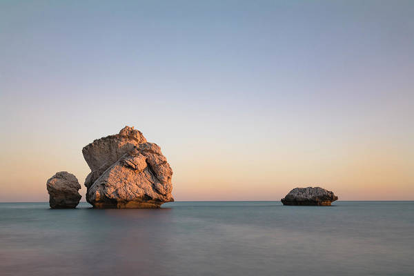 Cyprus Wall Art - Photograph - Aphrodite's Rock - Cyprus by Joana Kruse