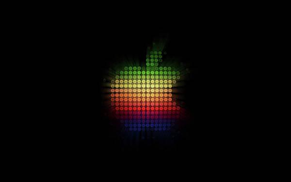 Pattern Digital Art - Apple by Maye Loeser