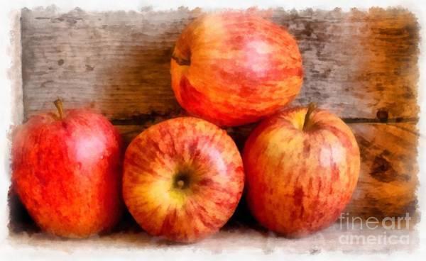 Gala Wall Art - Photograph - Apples by Edward Fielding