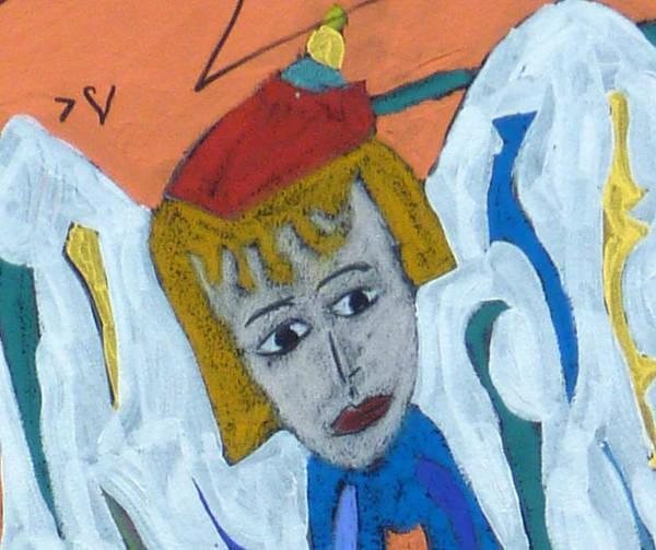 Clarity Painting - Archangel Raziel by Clarity Artists