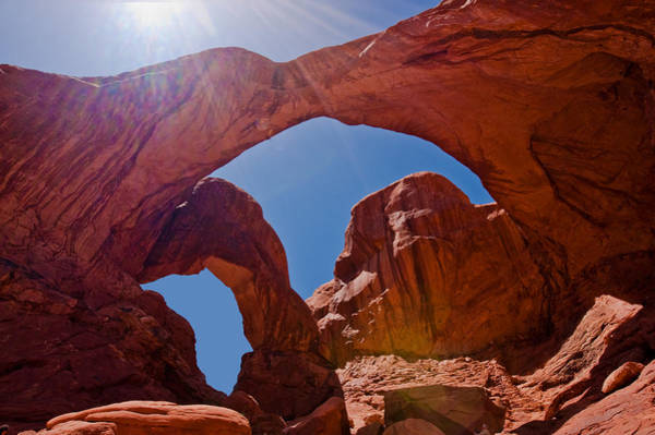 Arches N.p. Art Print by Larry Gohl