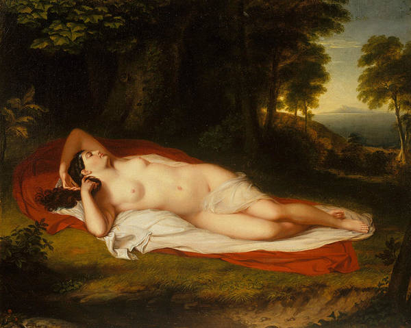 Painting - Ariadne by Asher Brown Durand