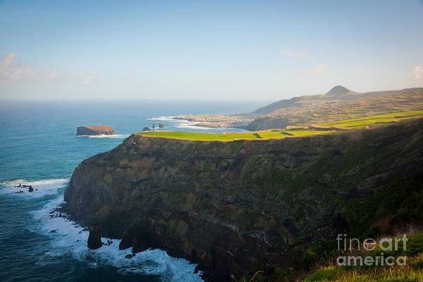 Acores Photograph - Azores Coastal Landscape by Gaspar Avila