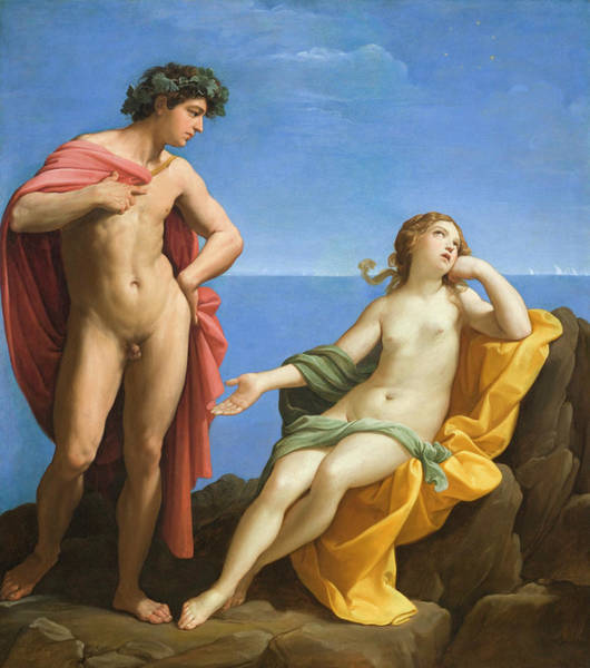 Wall Art - Painting - Bacchus And Ariadne by Guido Reni