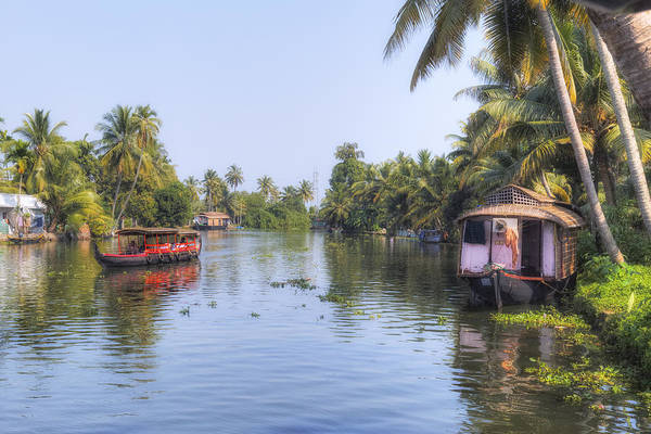 Kerala Photograph - Backwaters Kerala - India by Joana Kruse