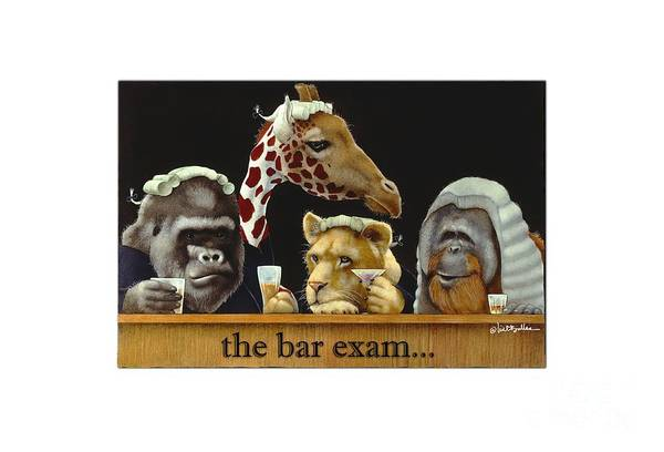 Justice Painting - Bar Exam... by Will Bullas