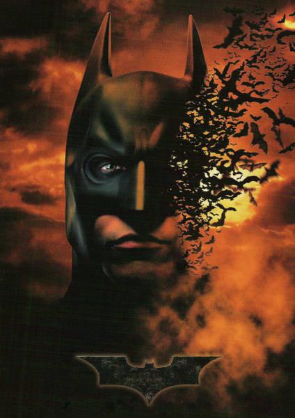 Wall Art - Digital Art - Batman Begins 2005 by Geek N Rock