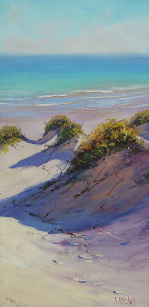 Wall Art - Painting - Beach Dunes by Graham Gercken
