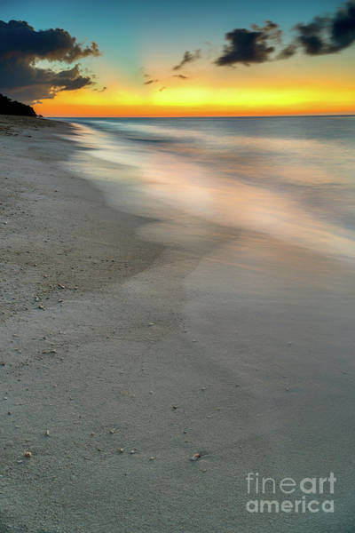 Coastline Digital Art - Beach Sunset by Adrian Evans