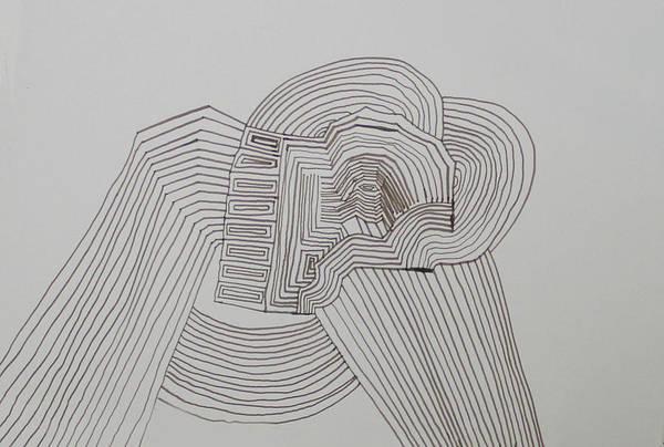 Drawing - Beast by Gloria Ssali
