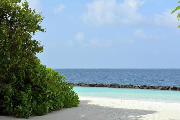 Photograph - Beautiful Beach In Maldives by Oana Unciuleanu