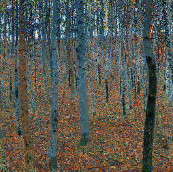 Wall Art - Painting - Beech Grove by Gustav Klimt