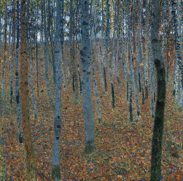 Painting - Beech Grove I by Gustav Klimt