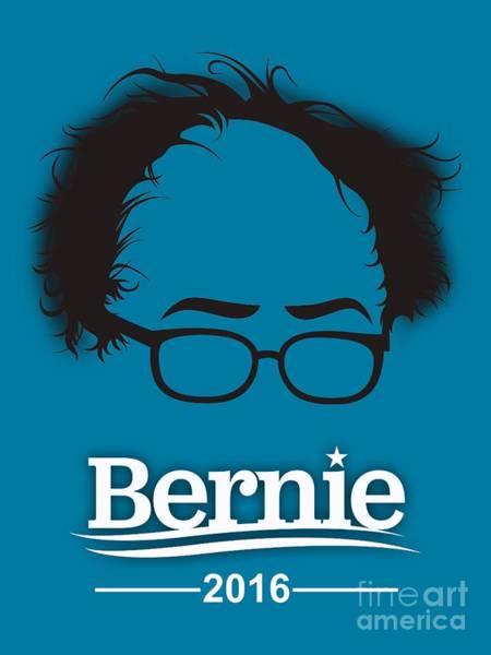 Democrat Mixed Media - Bernie Sanders by Marvin Blaine