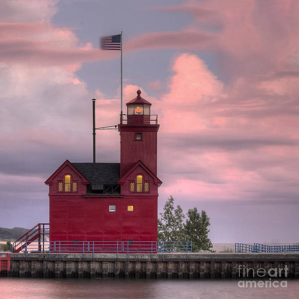 Holland Michigan Wall Art - Photograph - Big Red by Twenty Two North Photography