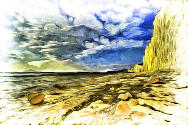 Wall Art - Photograph - Birling Gap And Seven Sisters Art by David Pyatt