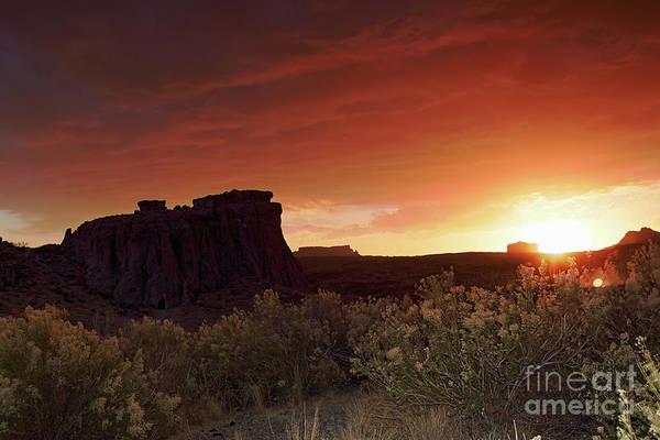 Wall Art - Photograph - Blazing Sunset by Rick Mann