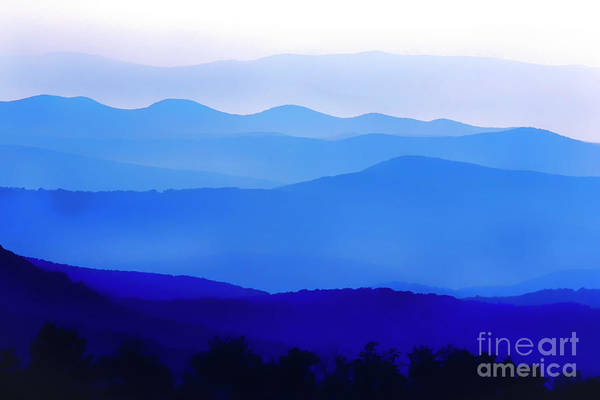 Photograph - Blue Ridge Mountains by Thomas R Fletcher
